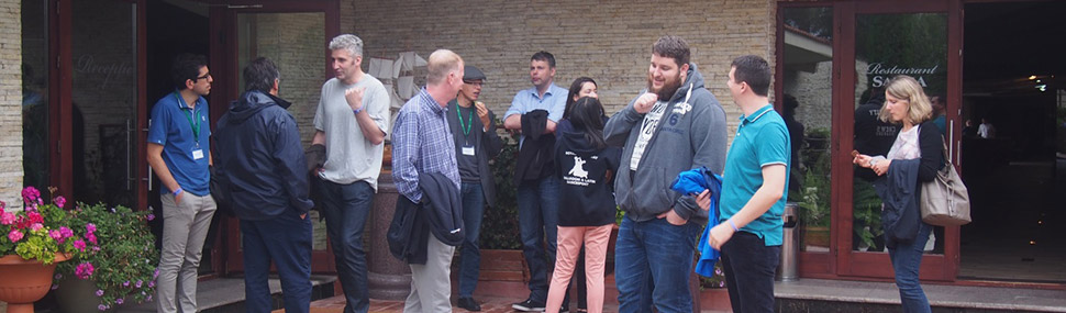 DISCO partners getting ready for a tour through the Danube Delta